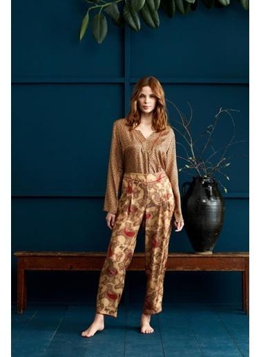 Penye Mood 8944 Pijama Takım Sarı